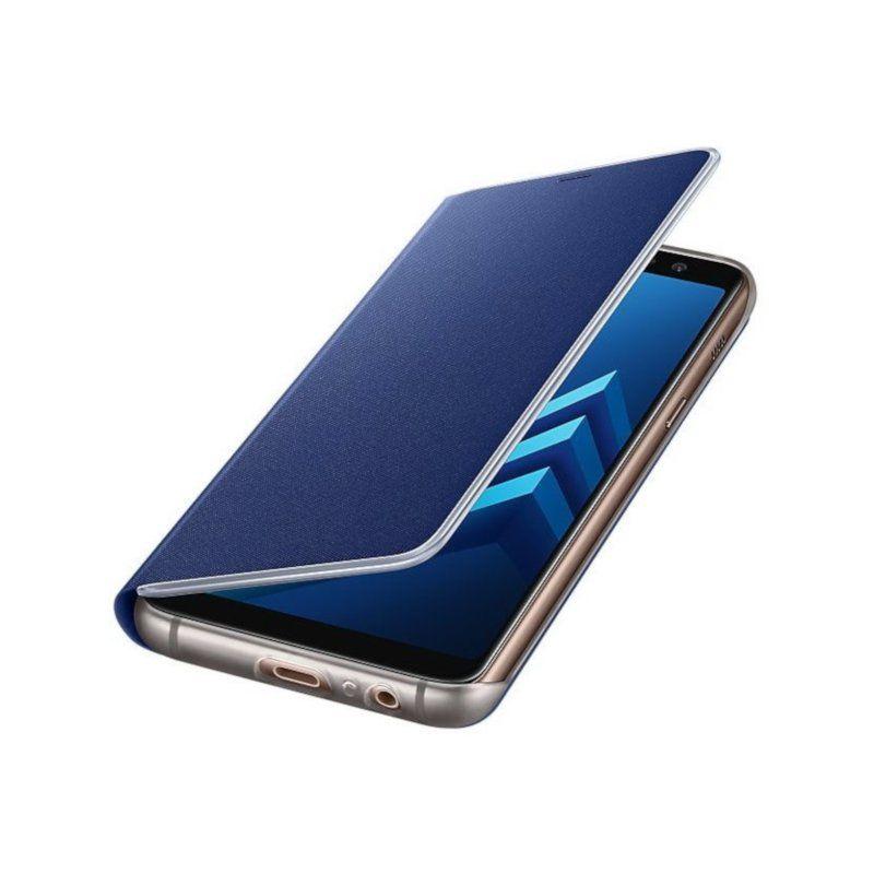 Чехол Samsung Flip Cover для Galaxy A8 2018 (EF-FA530PLEGRU) Blue недорого