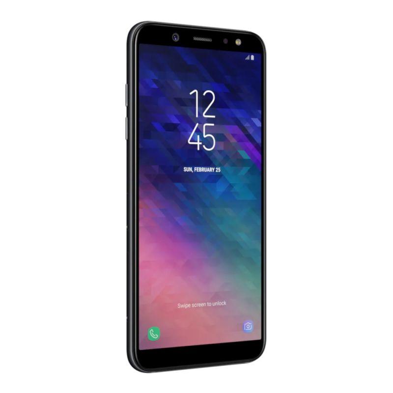 Смартфон Samsung Galaxy A6 3/32GB Black цена
