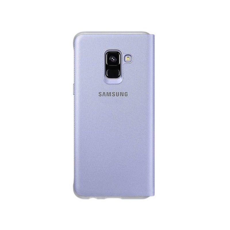 Чехол Samsung Neon Flip для Galaxy A8 2018 Gray купить