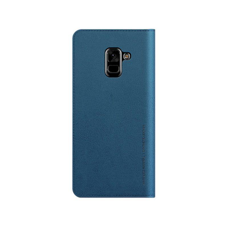 Чохол Araree Mustang Diary для Samsung A8 Plus 2018 (Blue) купить