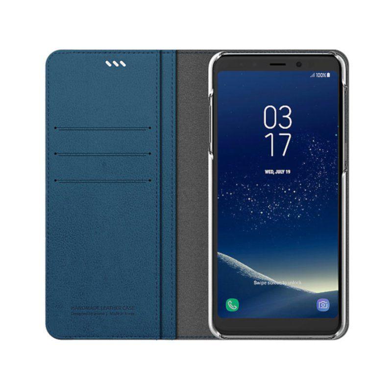 Чохол Araree Mustang Diary для Samsung A8 Plus 2018 (Blue) недорого