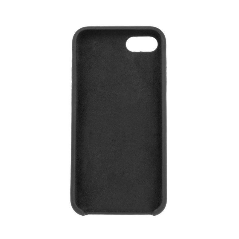 Чехол ColorWay Liquid Silicone для Apple iPhone 8 (Black) купить