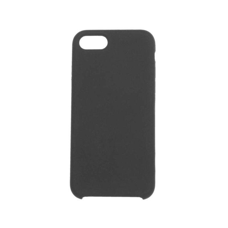 Чехол ColorWay Liquid Silicone для Apple iPhone 8 (Black)