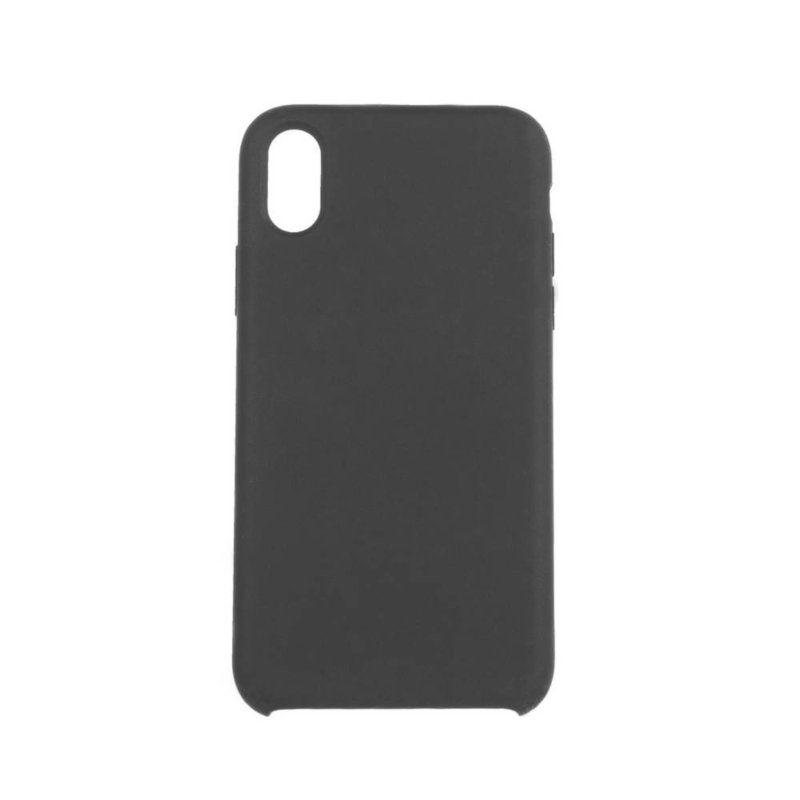 Чехол ColorWay Liquid Silicone для Apple iPhone X (Black)