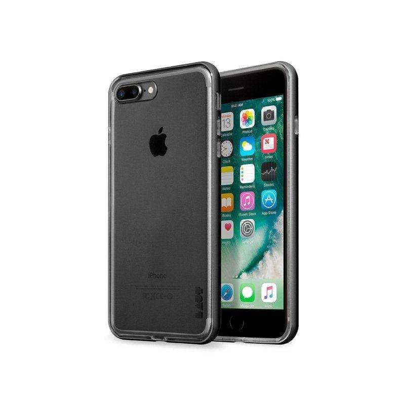 Чехол Laut Exo-Frame для Apple iPhone 8/7 Plus (Gun Metal)