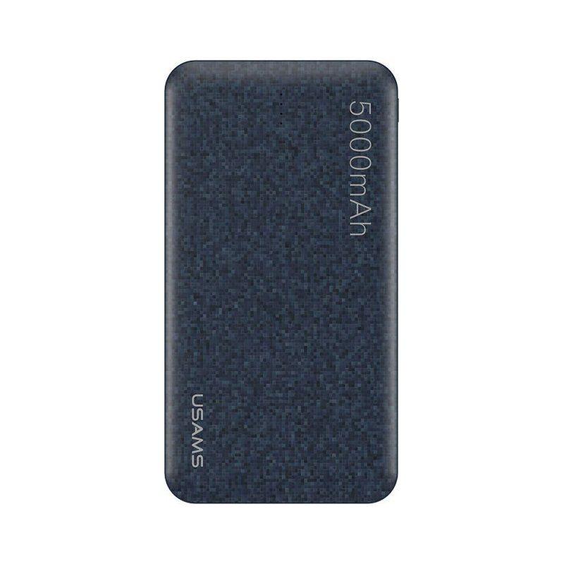 Портативный аккумулятор 5000mAh Usams US-CD20 Mosaic Series Blue