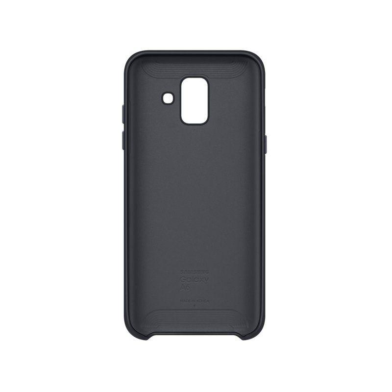 Чехол Samsung Dual Layer Cover для Galaxy A6 2018 (Black) купить