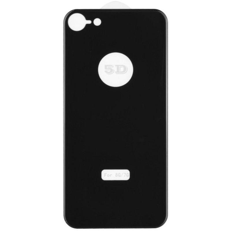 Защитное стекло MiaMI 5D Back Side для Apple iPhone 8 (Black)