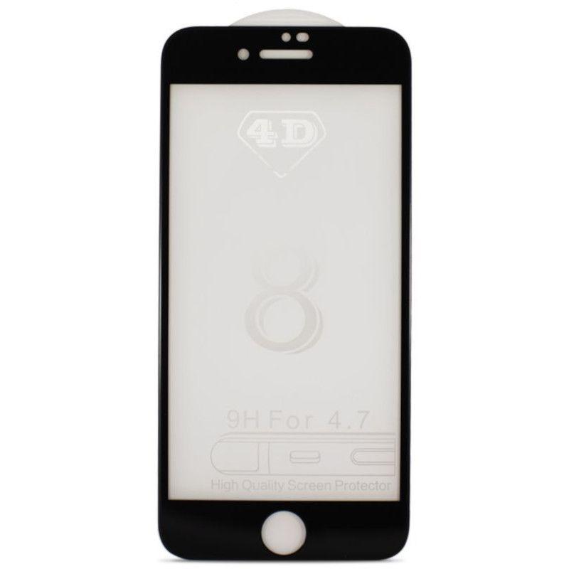 Защитное стекло MiaMI 4D для Apple iPhone 7 (Black)