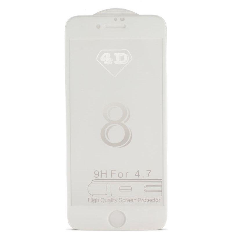 Защитное стекло MiaMI 4D для Apple iPhone 7 (White)