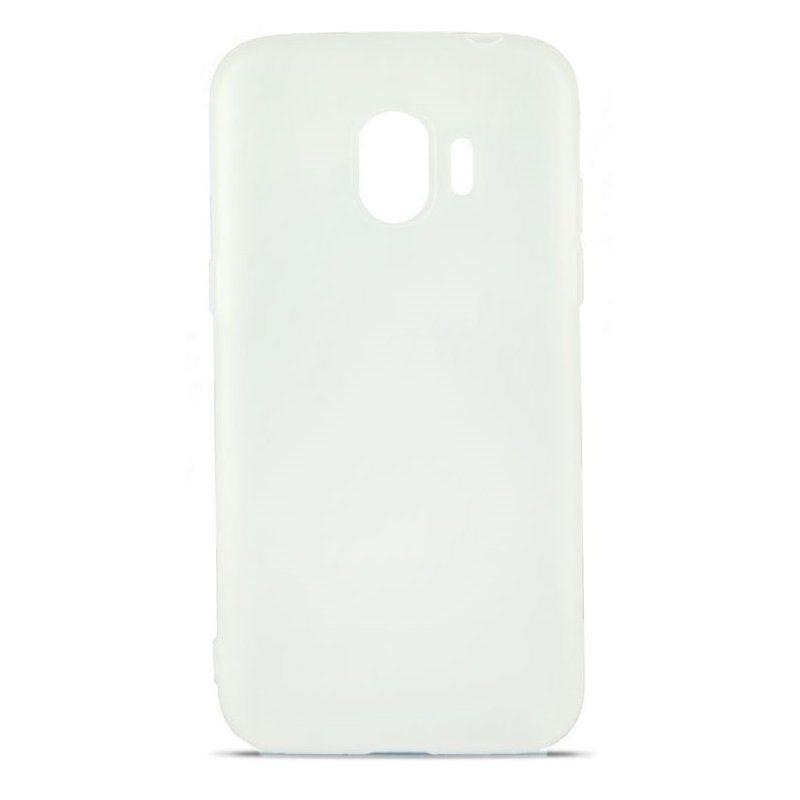 Чехол MiaMI Soft-touch для Samsung Galaxy J2 Pro 2018 (J250) White