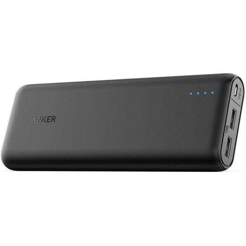 Портативный аккумулятор 15600mAh Anker PowerCore Li-ion V3 Black