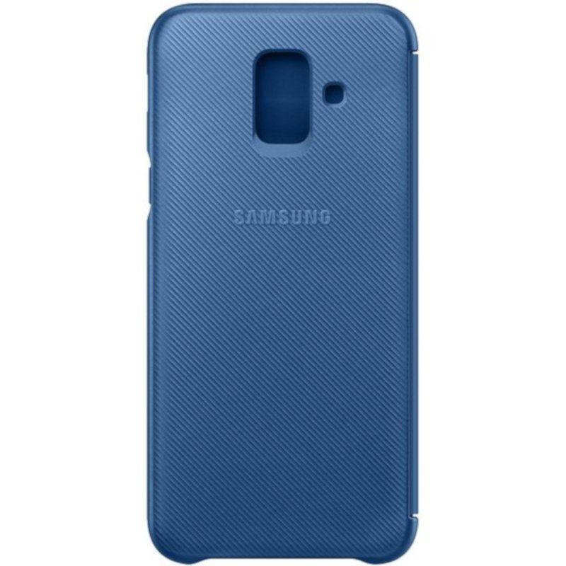 Чехол Samsung Wallet Cover для Galaxy A6 2018 (Blue) недорого