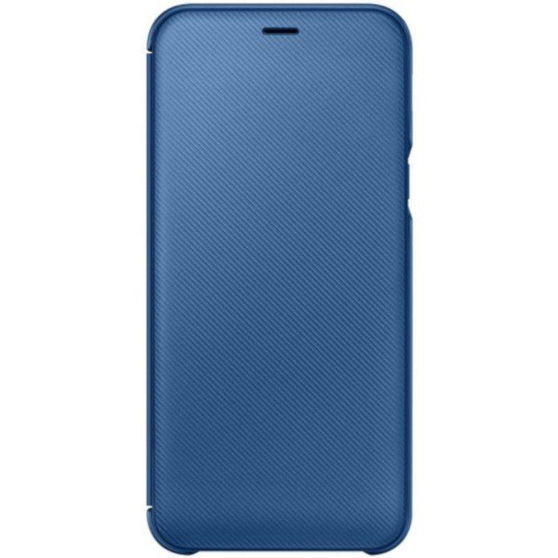 Чехол Samsung Wallet Cover для Galaxy A6 2018 (Blue)