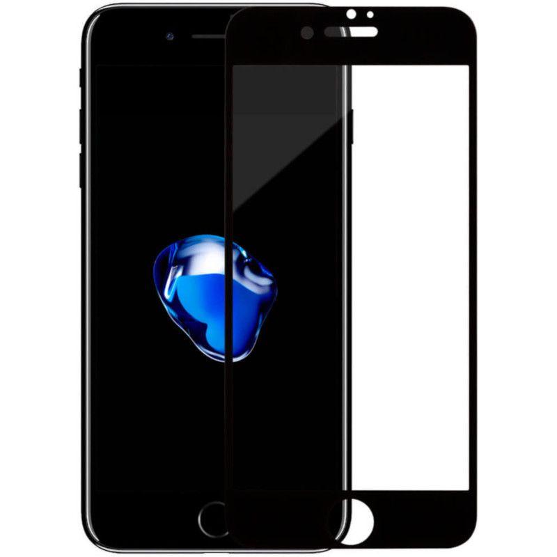 Защитное стекло MakeFuture Full Glue для Apple iPhone 7 (Black)
