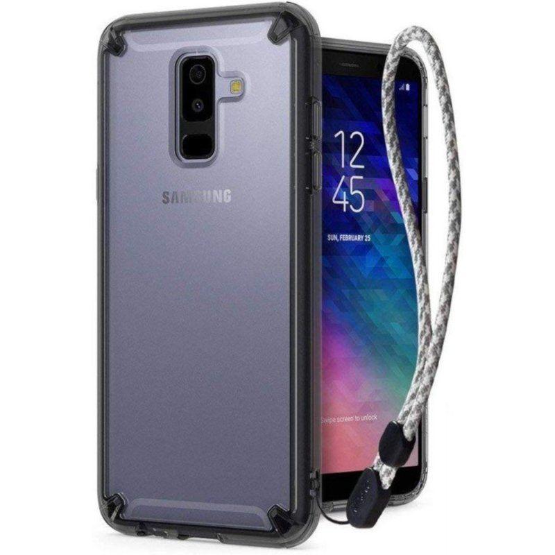 Чехол Ringke Fusion для Samsung Galaxy A6 2018 (Smoke Black)