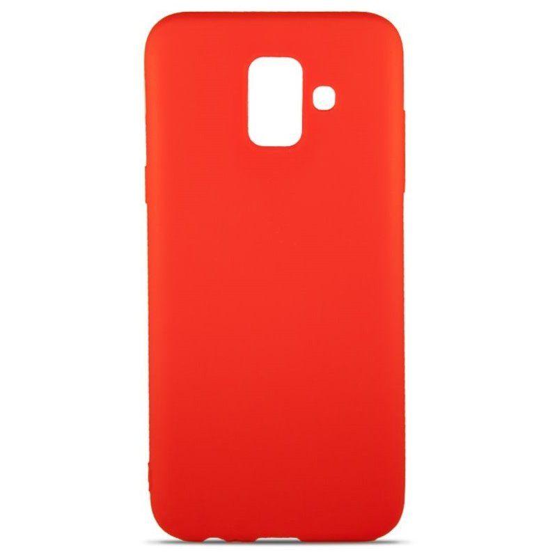 Чехол MiaMI Soft-touch для Samsung Galaxy A6 2018 (A600) Red