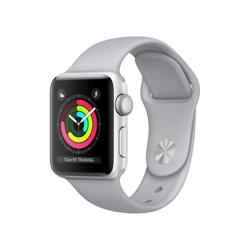 Смарт-часы Apple Watch Series 3 42mm GPS (MQL02) Silver Aluminium Case with Fog Sport Band купить