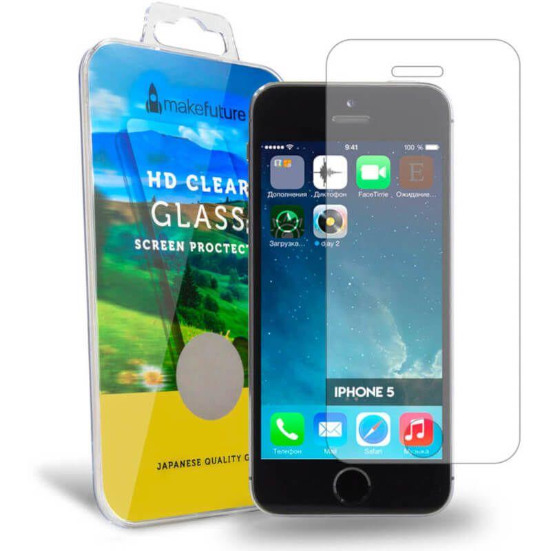 Защитное стекло MakeFuture для Apple iPhone 5/5S