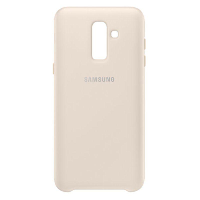 Чехол Samsung Dual Layer Cover для Galaxy J8 2018 (Gold)