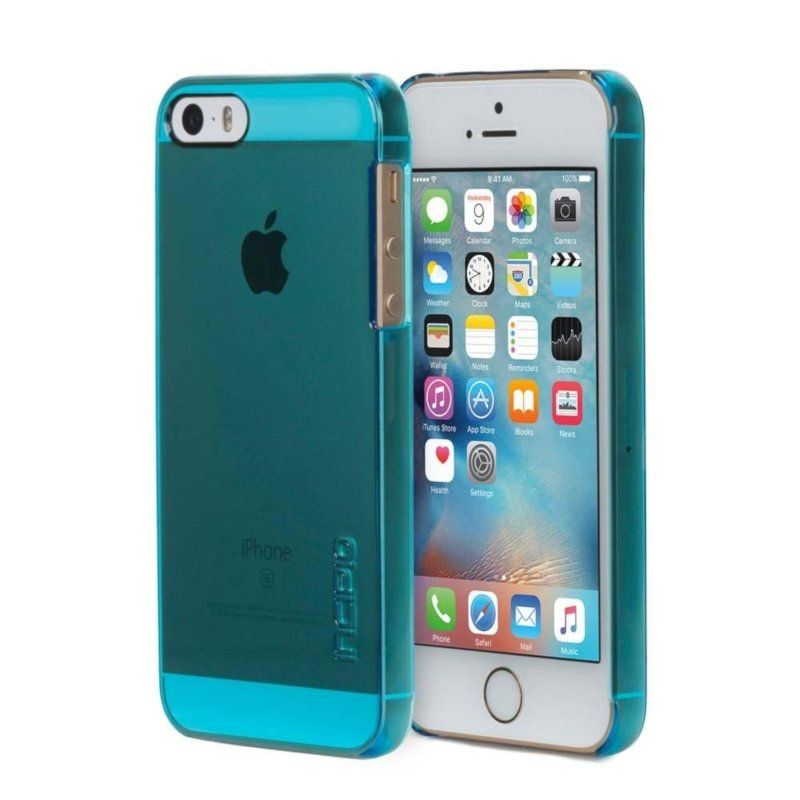 Чехол Incipio Feather Pure для Apple iPhone 5/5S Cyan