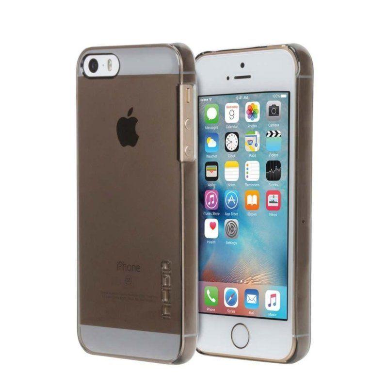Чехол Incipio Feather Pure для Apple iPhone 5/5S Gray