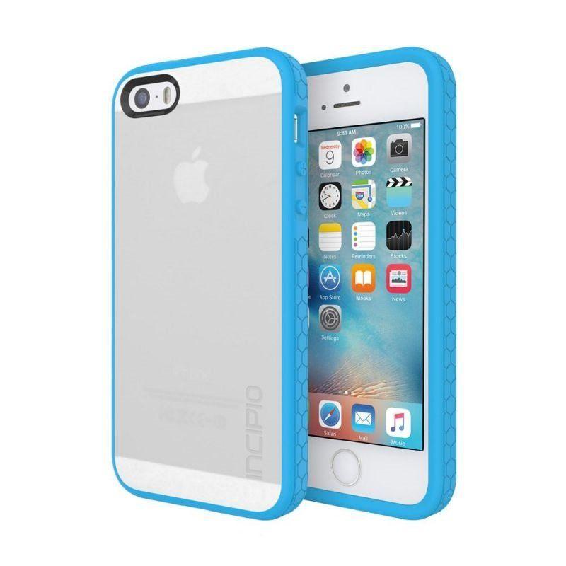 Чехол Incipio Octane для Apple iPhone 5/5S Clear-Cyan