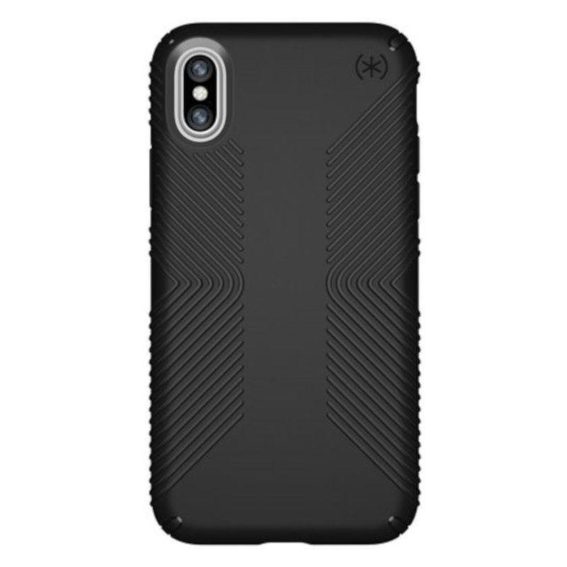 Чехол Speck Presidio Grip для Apple iPhone X (Black)