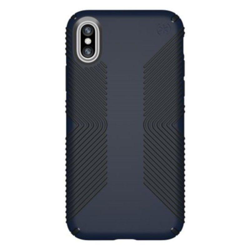 Чехол Speck Presidio Grip для Apple iPhone X (Blue-Black)