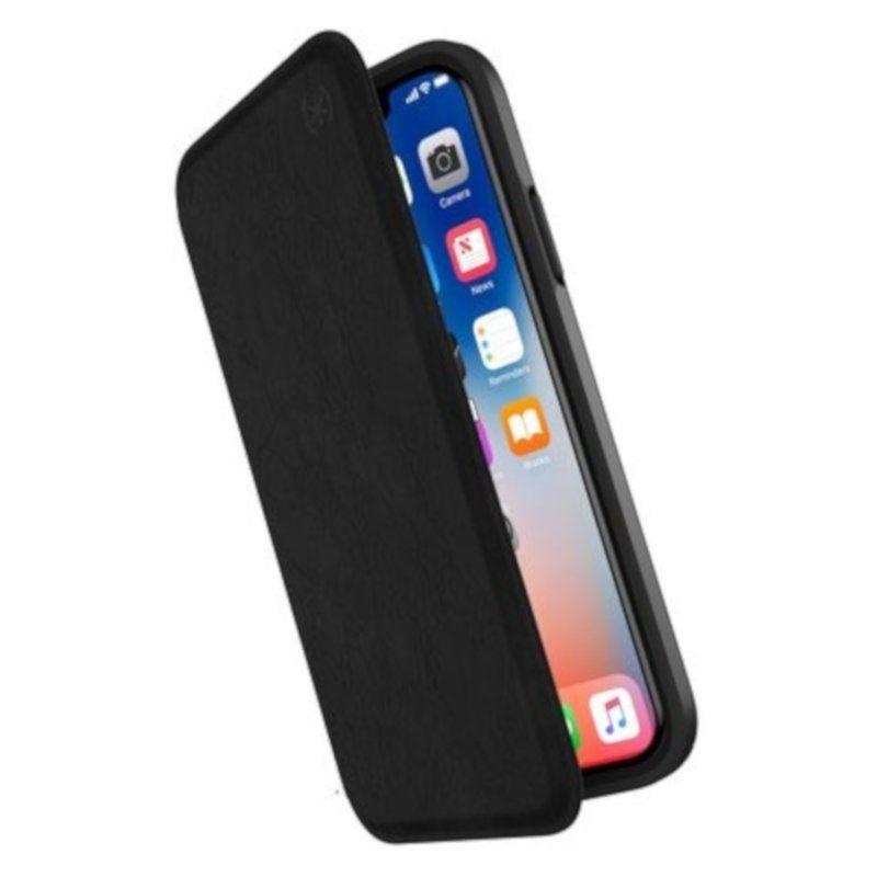 Чехол Speck Presidio для Apple iPhone X (Folio Black) недорого