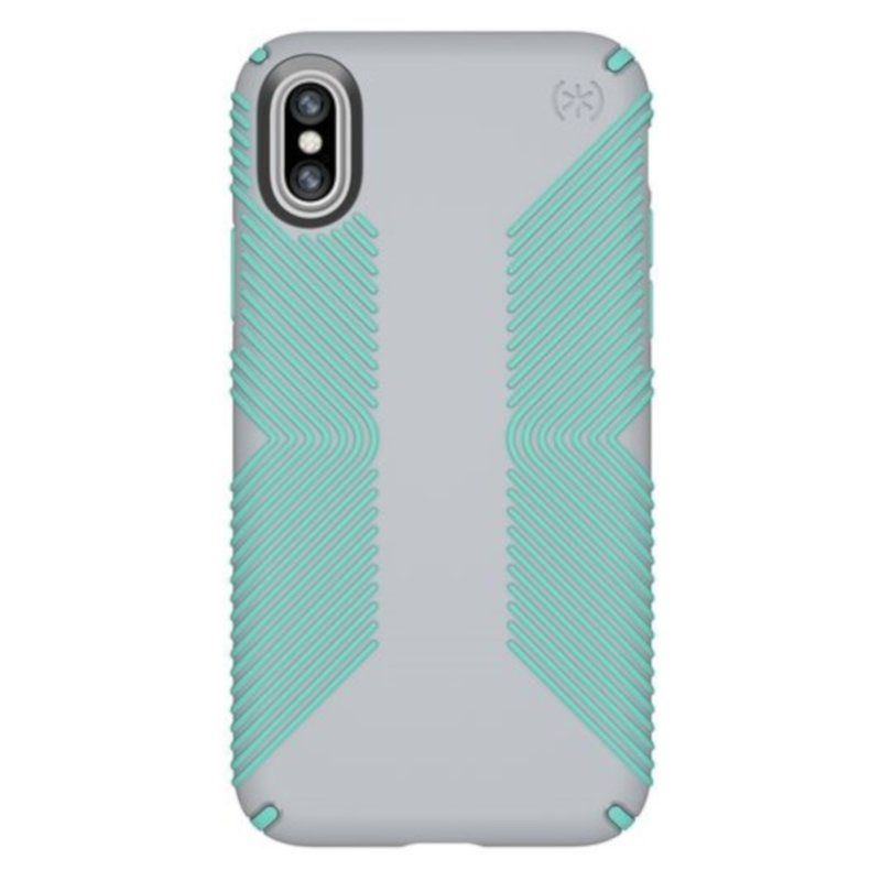 Чехол Speck Presidio Grip для Apple iPhone 8/7 Plus (Gray-Green)