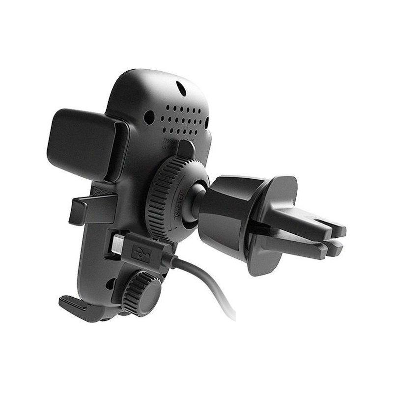 Автотримач iOttie Qi Vent Easy One Touch 4 універсальний (HLCRIO135AM) Black недорого