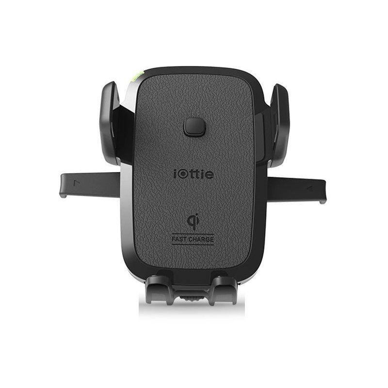 Автотримач iOttie Qi Vent Easy One Touch 4 універсальний (HLCRIO135AM) Black купить