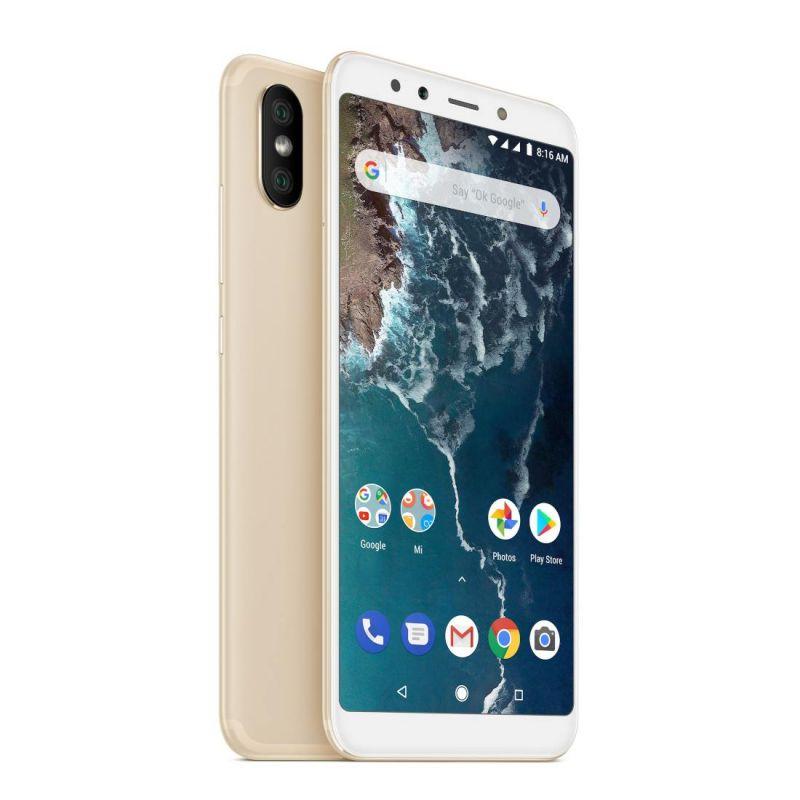 Смартфон Xiaomi Mi A2 4/32GB Gold в интернет-магазине