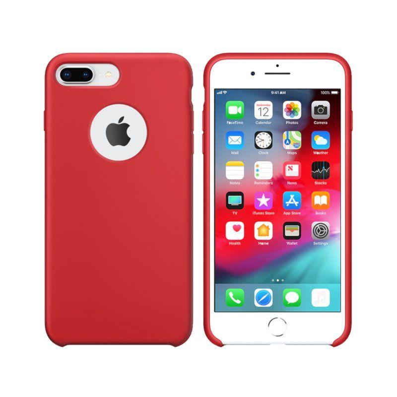 Чехол Intaleo Velvet для Apple iPhone 8 Plus (Red)