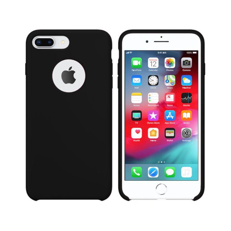 Чехол Intaleo Velvet для Apple iPhone 8 Plus (Black)