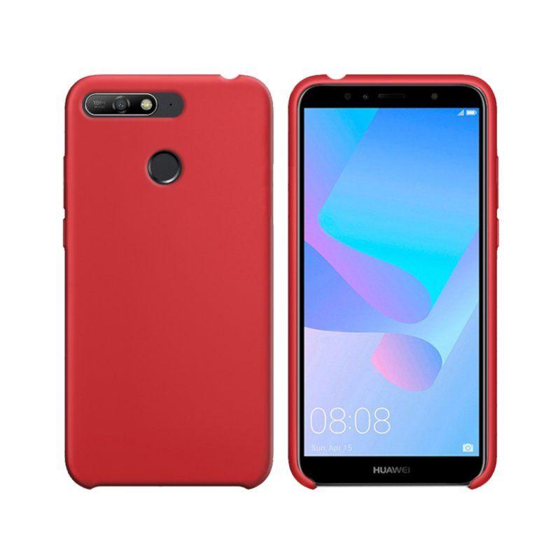 Чехол Intaleo Velvet для Huawei Y6 2018 (Red)