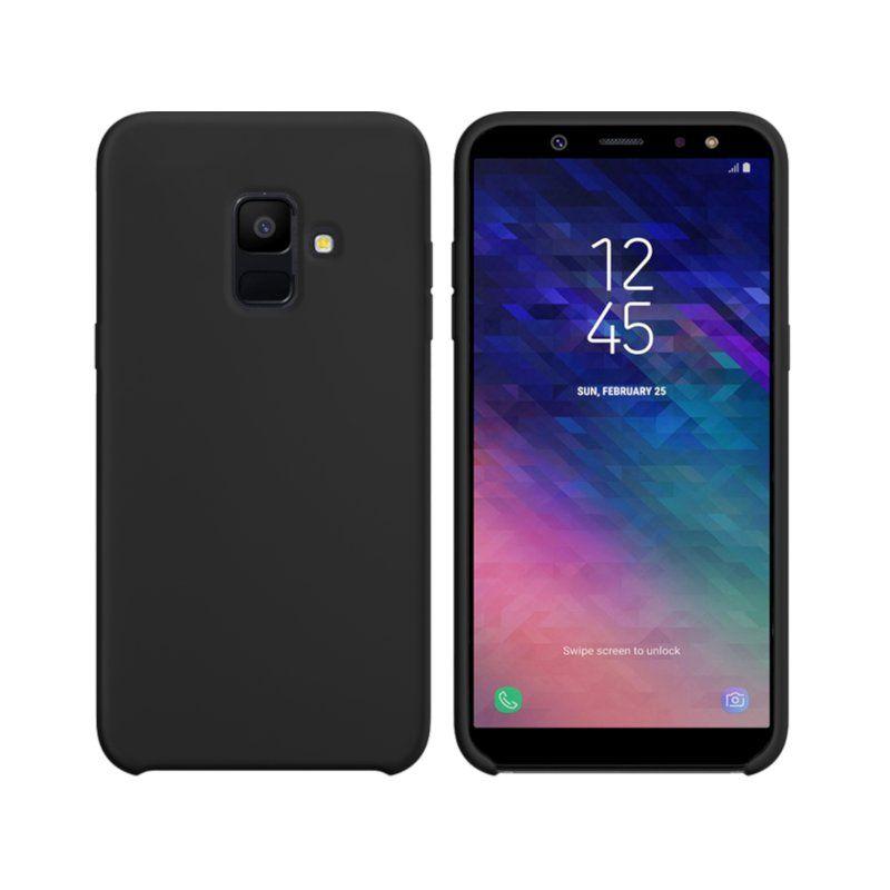 Чехол Intaleo Velvet для Samsung Galaxy A6 2018 (Black)