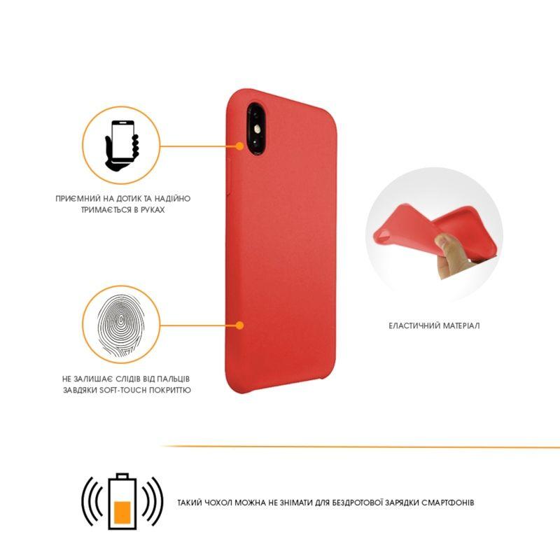 Чехол Intaleo Velvet для Samsung Galaxy A6 Plus 2018 Red купить
