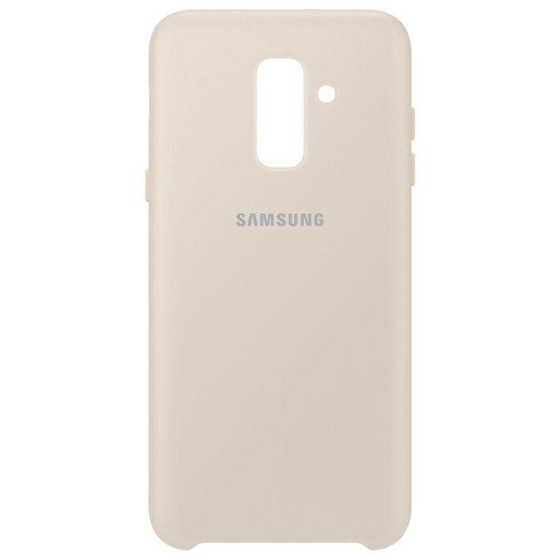 Чехол Samsung Dual Layer Cover для Galaxy A6 Plus 2018 (Gold)