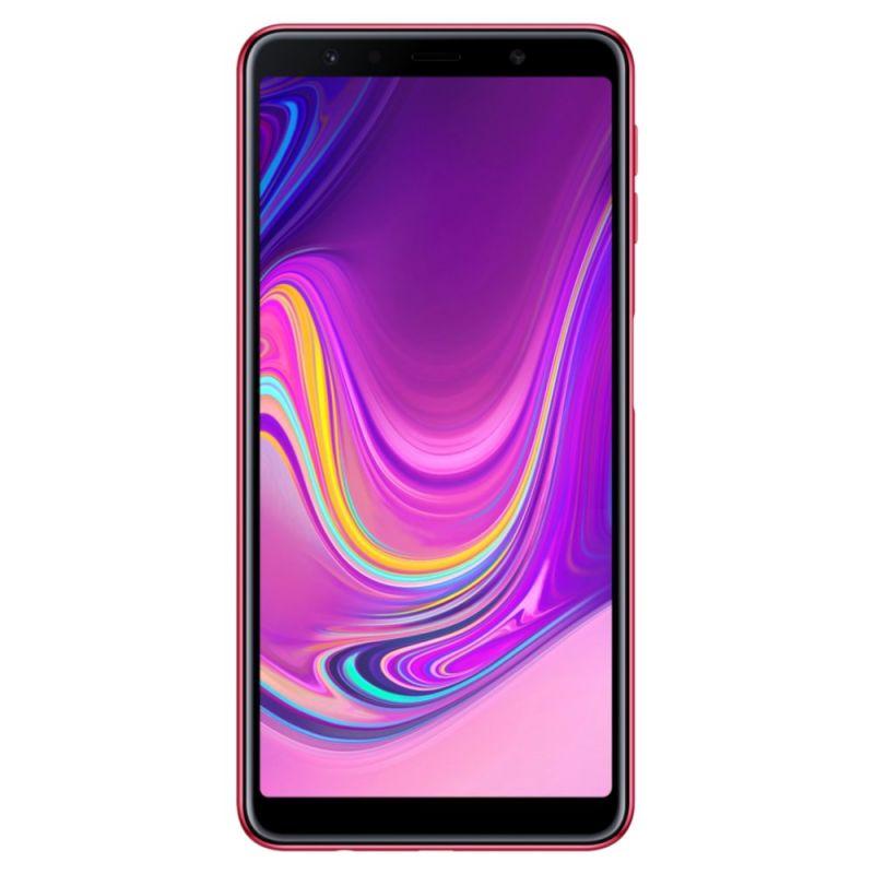 Смартфон Samsung Galaxy A7 2018 Pink купить