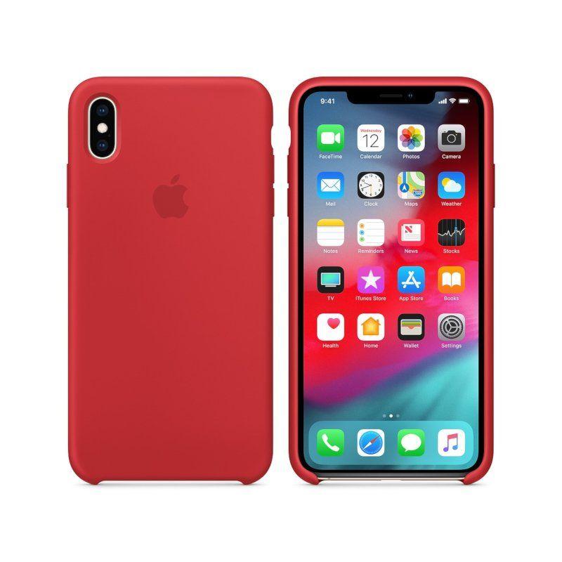 Чехол Apple Silicone Case для Apple iPhone XS Max (Red)