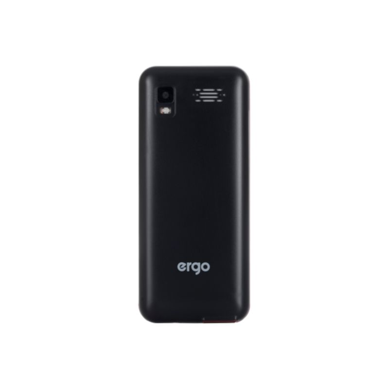 Телефон Ergo F282 Travel Dual Sim Black в интернет-магазине