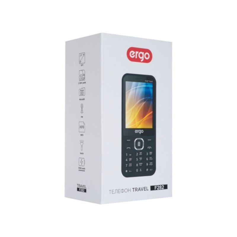 Телефон Ergo F282 Travel Dual Sim Black Vodafone