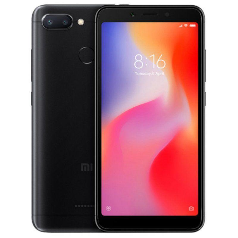 Смартфон Xiaomi Redmi 6 3/64GB Black недорого