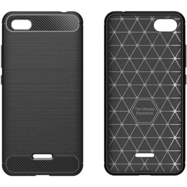 Чехол GlobalCase Leo для Xiaomi Redmi 6A (Black)