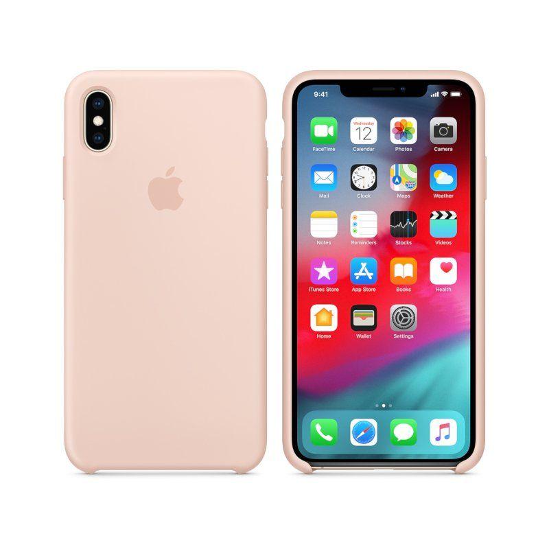 Чехол Apple Silicone Case для iPhone XS Max (Pink) купить