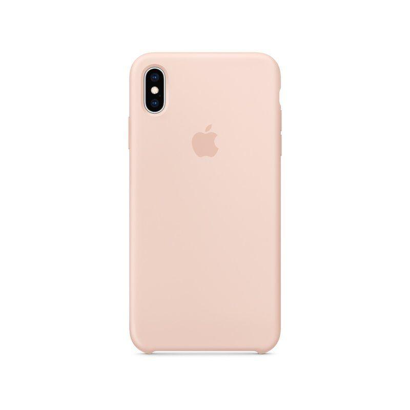 Чехол Apple Silicone Case для iPhone XS Max (Pink)