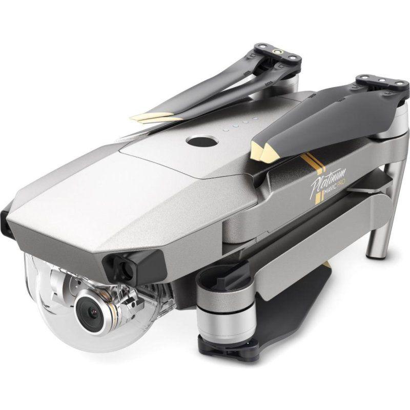 Квадрокоптер DJI Mavic Pro Platinum FMC (EU) (CP.PT.00000065.01) купить