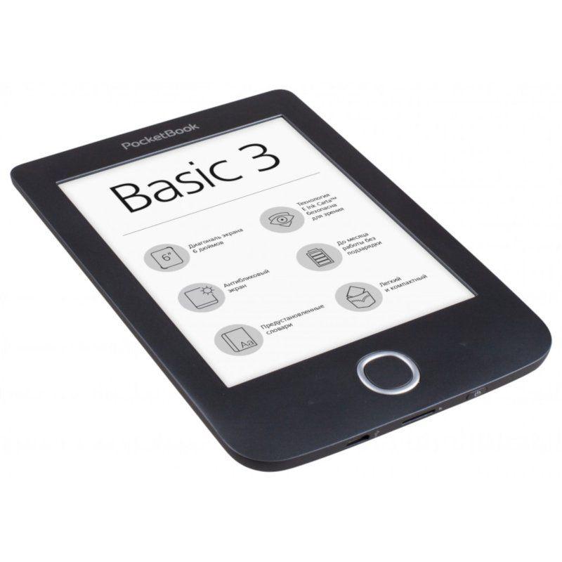 Электронная книга PocketBook 614 Basic3 (PB614-2-E-CIS) Black недорого